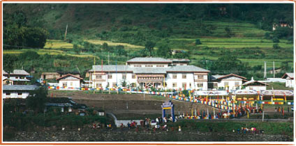 Our hospital in Punakha
